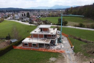 Gradnja sodobna vila