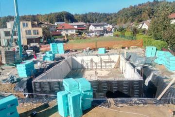 Gradnja vodonosen teren