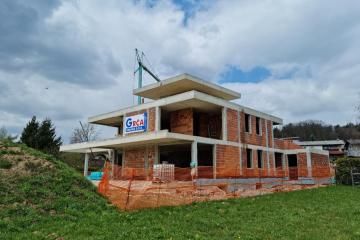 Sodobna gradnja beton-opeka