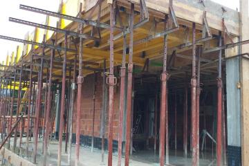 Zahtevno armiranje in betoniranje
