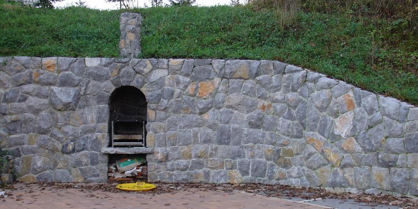 Zunanja ureditev in oporni zidovi
