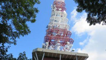 Sanacija temeljnih stebrov Telekomovega antenskega stolpa na Boču