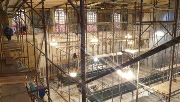 Obnova notranjosti in vgradnja pametne inštalacije v cerkvi Ježica